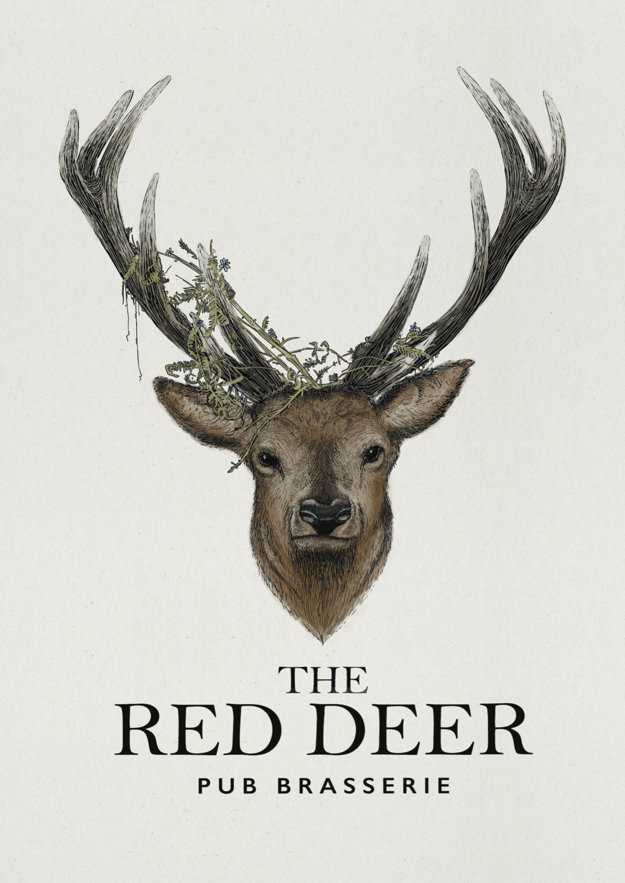 The Red Deer Logo