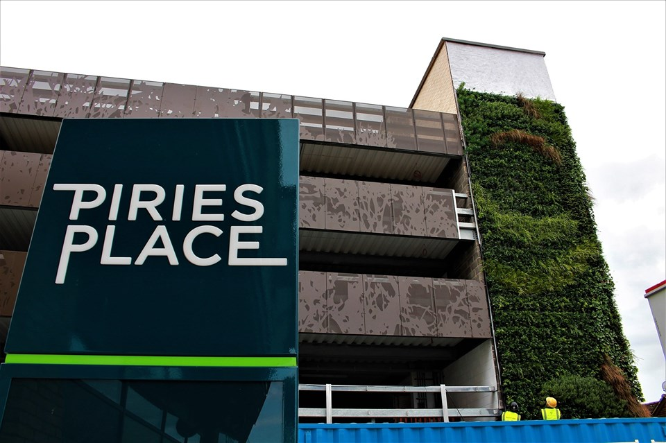 Piries Place Car Park to open on the 25th September